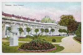 Alte Postkarte POTSDAM Schloss Sanssouci um 1900