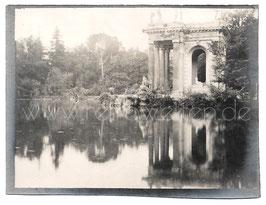 Alte Fotografie ROMA - Villa Borghese, 1910