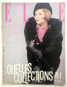 ELLE Quelles Collections!!! - französische vintage Modezeitschrift Modemagazin  Heft Nr. 767 von 1960