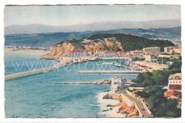 Alte Postkarte NICE NIZZA - Vue générale prise du Mont Boron, Frankreich 1928
