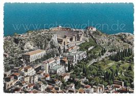 Alte Foto Postkarte TAORMINA Panorama - 1950er Jahre