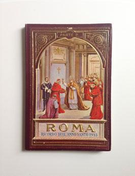 Leporello Foto Bildband  ROMA - RICORDO DELL' ANNO SANTO 1933, ITALIEN - 1. Teil