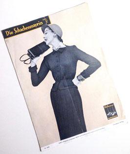 DIE SCHACHENMAYRIN Vintage Modezeitschrift Strickheft Handarbeitsmagazin mit Strickanleitungen  Heft Nr. 5301 von 1953