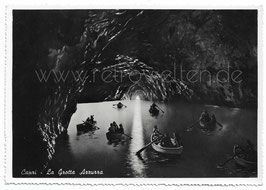 Alte Postkarte CAPRI La Grotta Azzurra   Italien 1950er Jahre