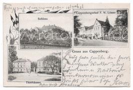 Alte Postkarte GRUSS AUS CAPPENBERG Schloss, Cappenberger Hof, Thorhäuser