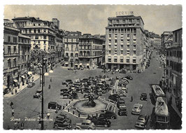 Alte Postkarte  ROMA - Piazza Barberini