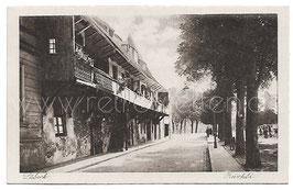 Alte Fotografie Postkarte LÜBECK-REINFELD  Straßenpartie