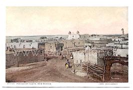 Alte Postkarte NEW MEXICO Pueblo of La Isleta