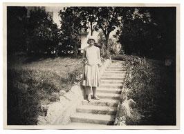 Alte Fotografie JUNGE FRAU AUS DEN 1920er JAHREN, Italien Mode