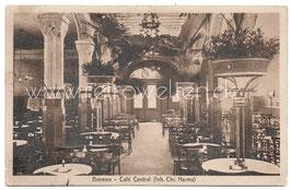 Alte Postkarte BREMEN Café Central, 1912
