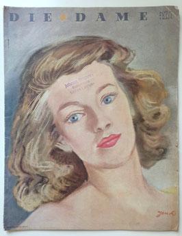 DIE DAME Vintage Modezeitschrift Modemagazin Frauenzeitschrift  - November 1941