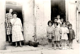 Alte Fotografie KINDER IN NEAPEL, Italien 1961