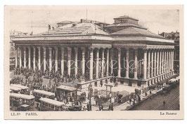Alte Foto Postkarte PARIS - La Bourse um 1910