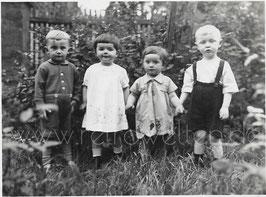 Alte Fotografie 4 KLEINE FREUNDE, 1930