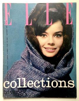 ELLE - Cover Pascale Petit - französische vintage Modezeitschrift Modemagazin - Collections - Heft Nr. 715 von 1959