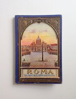 Leporello Foto Bildband  ROMA - RICORDO DELL' ANNO SANTO 1933, ITALIEN - 2. Teil