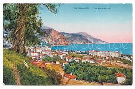 Alte Postkarte BEAULIEU - Vue générale, Frankreich 1928