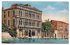 Alte Foto Postkarte VENEDIG VENEZIA  Palazzo Vendramin am Canal Grande