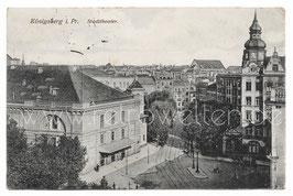 Alte Postkarte KÖNIGSBERG  -  Stadttheater