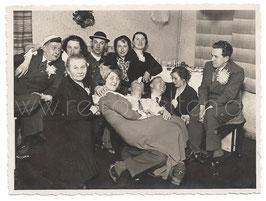 Alte Fotografie FASCHING Freunde feiern Karneval, 1933
