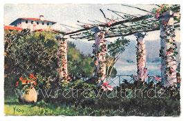 Alte Postkarte COTE D'AZUR - Pergola sur le Littoral- Frankreich 1928