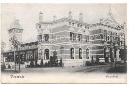 "Alte Postkarte BREMEN - VEGESACK Hotel Restaurant  ""Strandlust"" 1906"