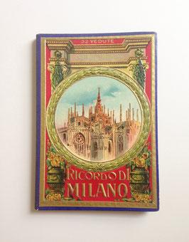 Leporello Foto Bildband  RICORDO DI MILANO, ITALIEN