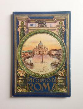 Leporello Foto Bildband  RICORDO DI ROMA, ITALIEN - 1. Teil