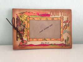 """Altes, kleines Fotoalbum """"OUR TRIP - RENO, NEVADA"""" USA 60er Jahre"""