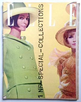ELLE Spécial Collections - französische vintage Modezeitschrift Modemagazin - Heft Nr. 845 von 1962