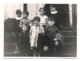 Altes Foto ITALIENISCHE SCHULKINDER 1937