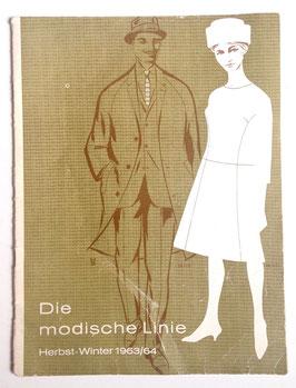 DIE NEUE LINIE Vintage Modezeitschrift Fachzeitschrift für Schneider*innen - Herbst-Winter 1963/64
