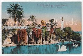 Alte Postkarte NICE NIZZA - Jardins Albert 1er - La Gotte - Frankreich 1928
