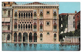 Alte Foto Postkarte VENEDIG VENEZIA Palazzo Ca' d'Oro