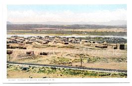 Alte Postkarte NEW MEXICO Pueblo of Santo Domingo