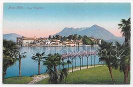 Alte Foto Postkarte LAGO MAGGIORE  ISOLA BELLA um 1910