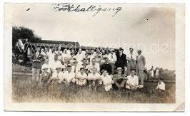 Alte Fotografie WAYNE SOCCER CLUB FOOTBALL MANNSCHAFT  USA 1920er Jahre