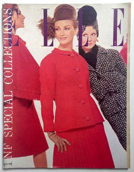 ELLE Spécial Collections - französische vintage Modezeitschrift Modemagazin - Heft Nr. 871 von 1962