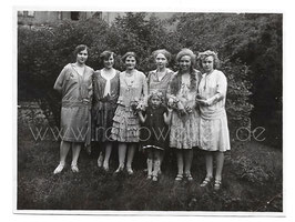 Alte Fotografie 6 ELEGANTE FREUNDINNEN 1920er Jahre