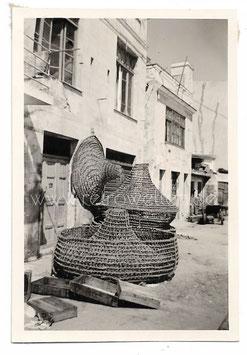 Alte Fotografie MARSALA, ITALIEN Reusen am Hafen, 1957