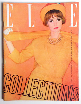 ELLE Collections - französische vintage Modezeitschrift Modemagazin Heft Nr. 793 von 1961
