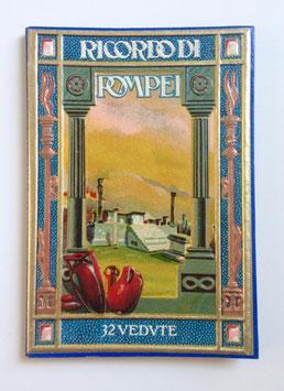 Leporello Foto Bildband  RICORDO DI POMPEI, ITALIEN