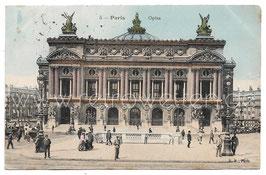 Alte Postkarte PARIS - Operá, 1909