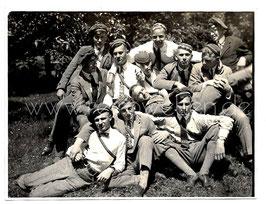 Alte Fotografie STUDENTEN IN COULEUR, 1930er Jahre