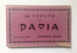 Postkarten Leporello  PAVIA