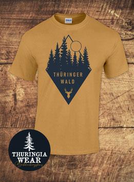 Thüringer Wald - T-Shirt Old Gold