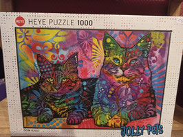 Puzzle Devoted to Cats