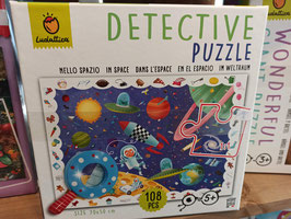 DETECTIVE PUZZLE - IN SPACE puzzle 5 ans