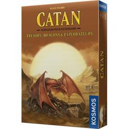 CATAN extension TRESORS, DRAGONS ET EXPLORATEURS