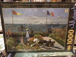 Puzzle 1000 Pièces Monet - Jardin Saint Adresse